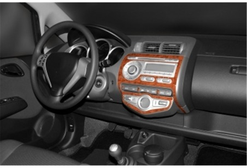 Tata Tata xenon 4x4 01.2009 Mittelkonsole Armaturendekor Cockpit Dekor 22 -Teile