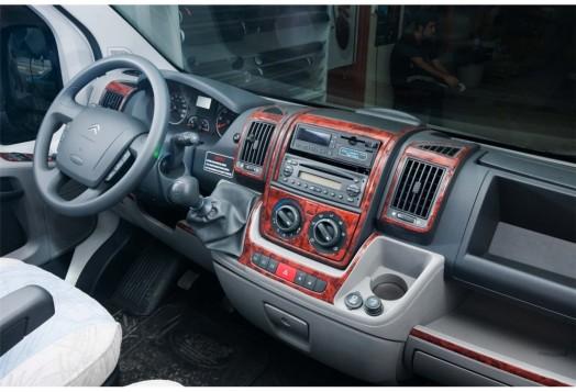 Honda Jazz 10.04-12.07 3M 3D Car Tuning Interior Tuning Interior Customisation UK Right Hand Drive Australia Dashboard Trim Kit