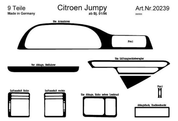 Honda CR-V 4X4 01.2014 3M 3D Car Tuning Interior Tuning Interior Customisation UK Right Hand Drive Australia Dashboard Trim Kit