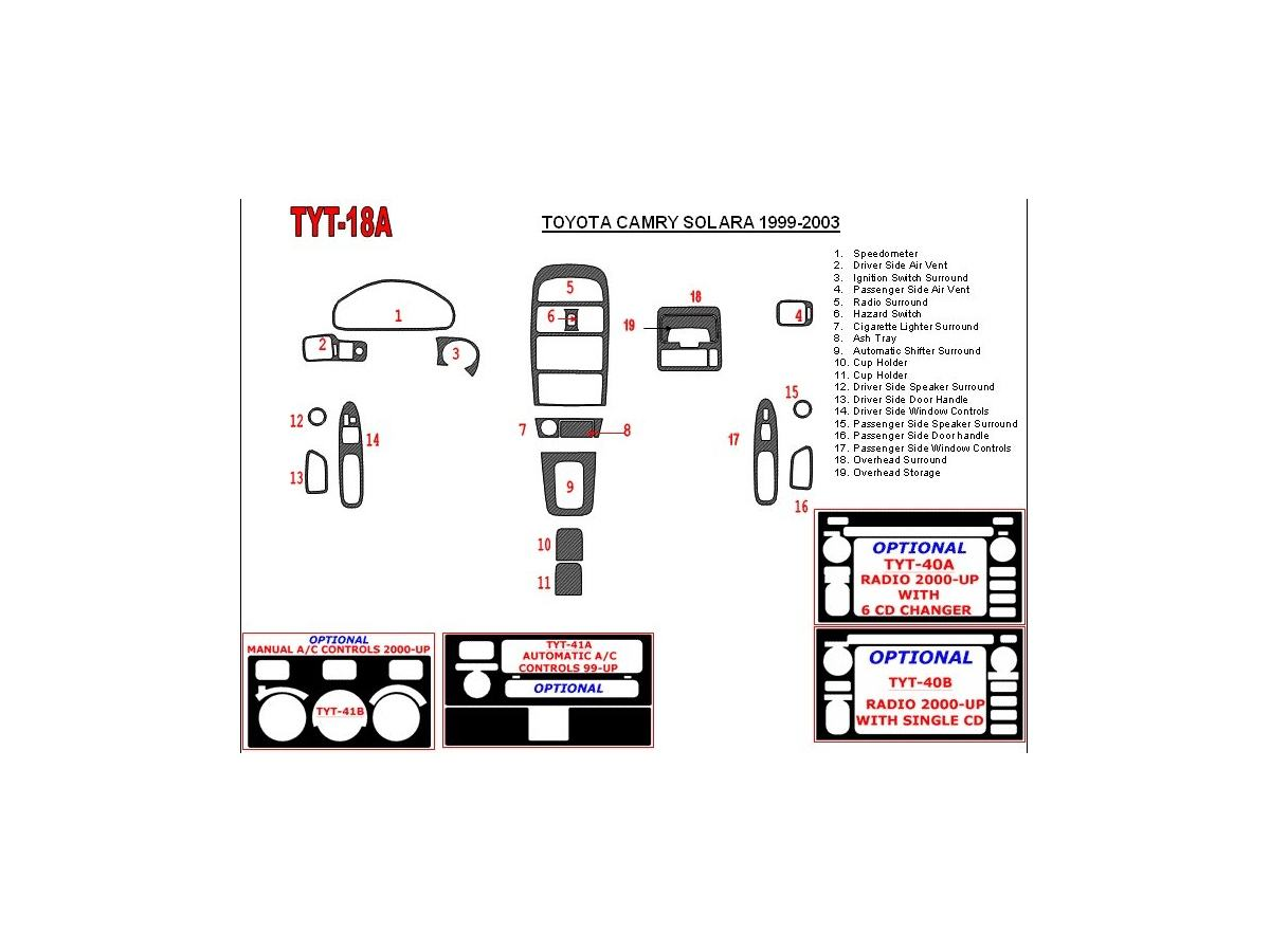 1999 toyota camry ke parts diagram  u2022 wiring diagram for free