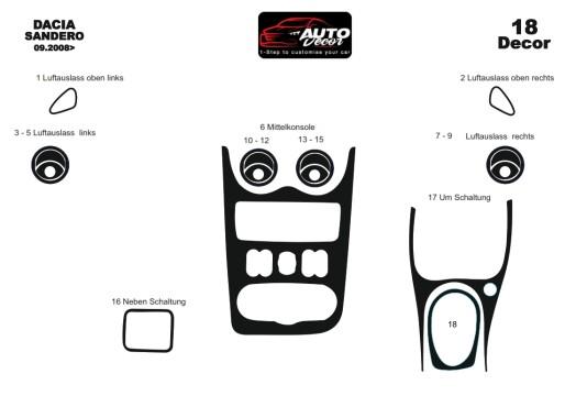 Hyundai Elantra 09.95-12.98 3M 3D Car Tuning Interior Tuning Interior Customisation UK Right Hand Drive Australia Dashboard Trim