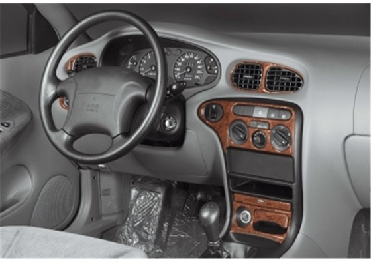 Hyundai Elantra 01.99-07.00 3M 3D Car Tuning Interior Tuning Interior Customisation UK Right Hand Drive Australia Dashboard Trim