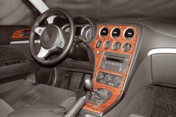 BMW 3 Series E46 04.98 - 12.04 Interior Dashboard Trim Kit Dashtrim accessories, wood grain, camouflage, carbon fiber, aluminum