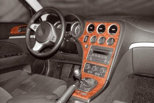 BMW 3 Series E46 04.98 - 12.04 Mittelkonsole Armaturendekor Cockpit Dekor 25 -Teile