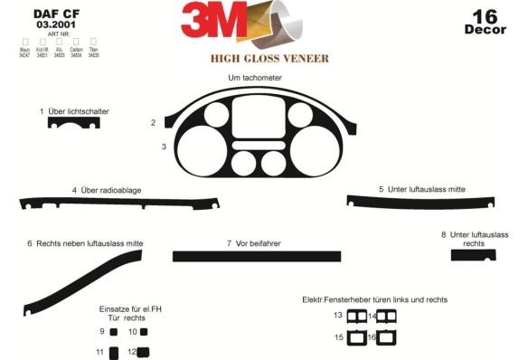 Hyundai Starex 01.01-12.07 3M 3D Car Tuning Interior Tuning Interior Customisation UK Right Hand Drive Australia Dashboard Trim
