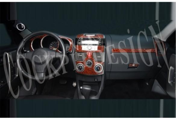Isuzu D-Max 4X2-4X4 01.07-12.12 3M 3D Car Tuning Interior Tuning Interior Customisation UK Right Hand Drive Australia Dashboard