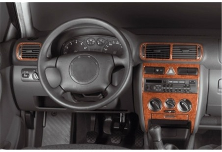 Volvo S 60 08.00 - 04.05 Interior Dashboard Trim Kit Dashtrim accessories, wood grain, camouflage, carbon fiber, aluminum dash k