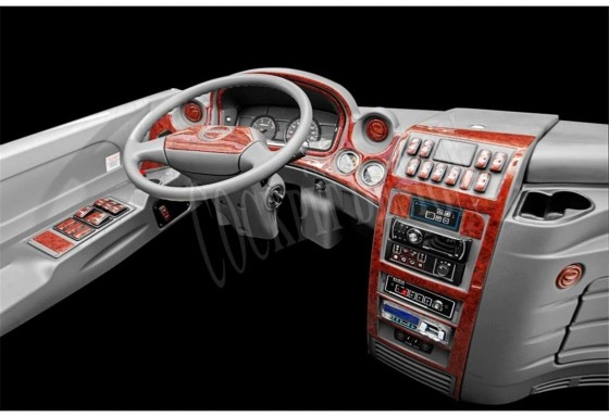 Isuzu Novo Lüx 01.2012 3M 3D Car Tuning Interior Tuning Interior Customisation UK Right Hand Drive Australia Dashboard Trim Kit