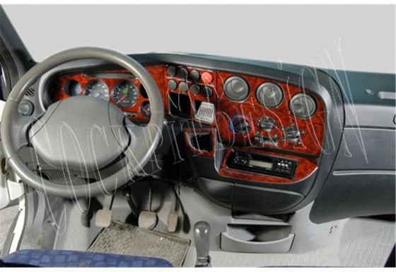 Iveco Daily City 01.99-09.07 3M 3D Car Tuning Interior Tuning Interior Customisation UK Right Hand Drive Australia Dashboard Tri