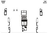 Setra 3-Series 01.96 - 01.00 Mittelkonsole Armaturendekor Cockpit Dekor 13 -Teile
