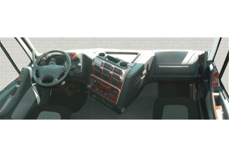 Seat Toledo - Leon 1M 01.99 - 03.04 Interior Dashboard Trim Kit Dashtrim accessories, wood grain, camouflage, carbon fiber, alum