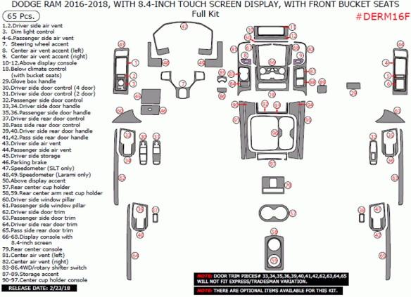 Kia Rio 01.2011 3M 3D Car Tuning Interior Tuning Interior Customisation UK Right Hand Drive Australia Dashboard Trim Kit Dash Tr