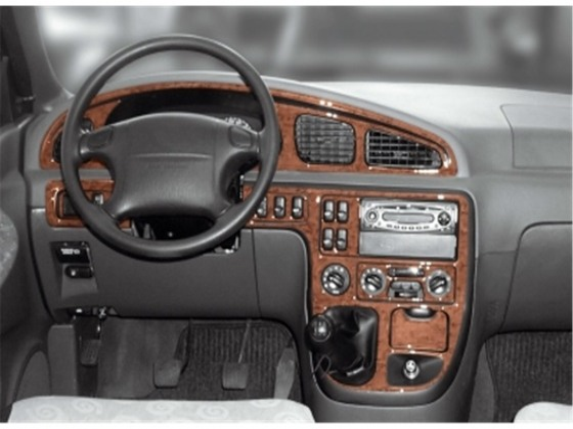 Kia Carnival 04.1999 3M 3D Car Tuning Interior Tuning Interior Customisation UK Right Hand Drive Australia Dashboard Trim Kit Da