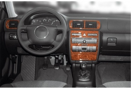 Volvo S 90 - V 90 12.96 - 03.98 Interior Dashboard Trim Kit Dashtrim accessories, wood grain, camouflage, carbon fiber, aluminum