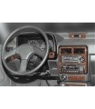 Kia Pride 03.1995 3M 3D Interior Dashboard Trim Kit Dash Trim Dekor 17-Parts