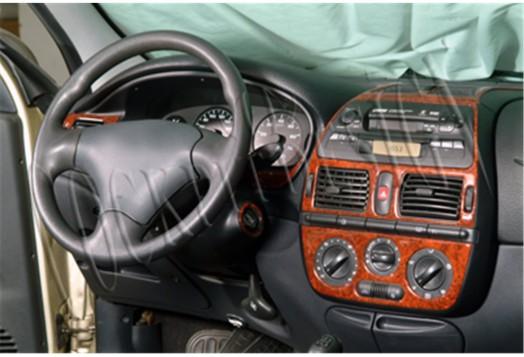 Kia Sephia 06.1995 3M 3D Car Tuning Interior Tuning Interior Customisation UK Right Hand Drive Australia Dashboard Trim Kit Dash