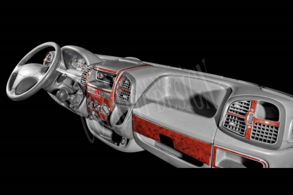 Kia Bongo 05.2009 3M 3D Car Tuning Interior Tuning Interior Customisation UK Right Hand Drive Australia Dashboard Trim Kit Dash
