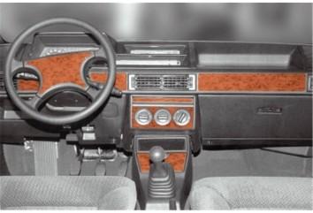BMW 3 Series F30 01.2012 Interior Dashboard Trim Kit Dashtrim accessories, wood grain, camouflage, carbon fiber, aluminum dash k