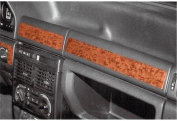 Citroen Saxo 04.96 - 10.99 Interior Dashboard Trim Kit Dashtrim accessories, wood grain, camouflage, carbon fiber, aluminum dash