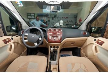 Citroen Xsara Picasso 11.99 - 09.06 Interior Dashboard Trim Kit Dashtrim accessories, wood grain, camouflage, carbon fiber, alum