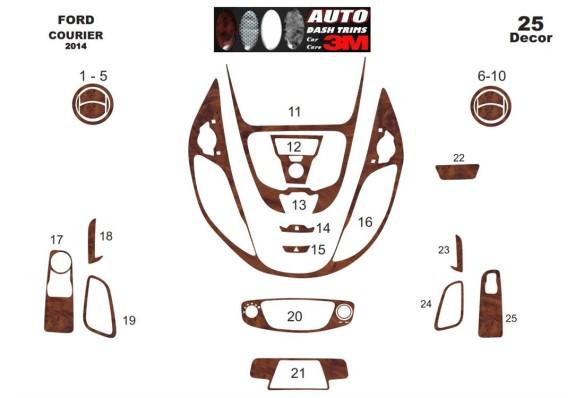 Mazda 323 S 01.1994 3M 3D Car Tuning Interior Tuning Interior Customisation UK Right Hand Drive Australia Dashboard Trim Kit Das