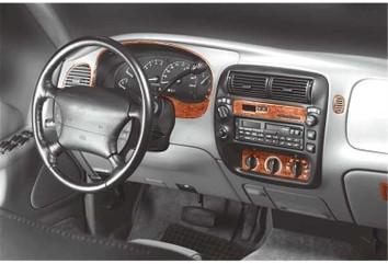 Toyota Auris 01.2008 Mittelkonsole Armaturendekor Cockpit Dekor 16 -Teile