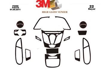 Chrysler Cherokee 04.1997 Mittelkonsole Armaturendekor Cockpit Dekor 9 -Teile