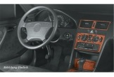 Chrysler Grand Cherokee 09.92 - 01.96 Mittelkonsole Armaturendekor Cockpit Dekor 9 -Teile
