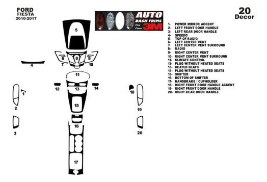 Mercedes C-Class W202 06.93-09.95 3M 3D Car Tuning Interior Tuning Interior Customisation UK Right Hand Drive Australia Dashboar