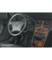Mercedes C-Class W202 06.97-04.00 3M 3D Interior Dashboard Trim Kit Dash Trim Dekor 14-Parts