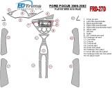 Mercedes C-Class W204 01.2006 3M 3D Car Tuning Interior Tuning Interior Customisation UK Right Hand Drive Australia Dashboard Tr