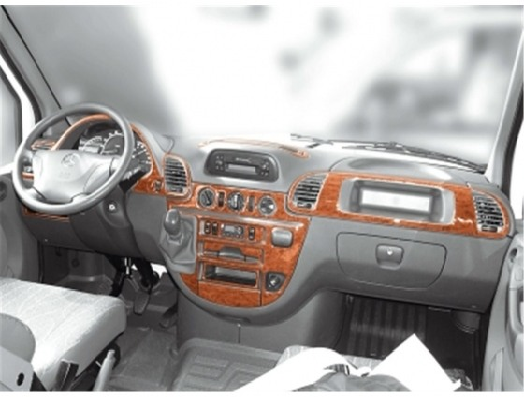 Mercedes Sprinter W903 02.00-04.06 3M 3D Car Tuning Interior Tuning Interior Customisation UK Right Hand Drive Australia Dashboa