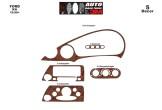 Kia Rio 09.02 - 10.05 Mittelkonsole Armaturendekor Cockpit Dekor 6 -Teile