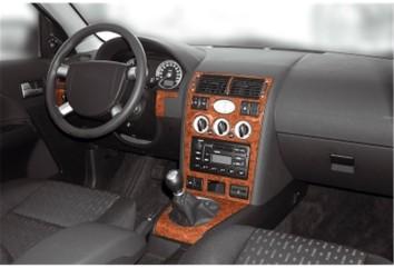 Kia Cee'd 01.2007 Interior Dashboard Trim Kit Dashtrim accessories, wood grain, camouflage, carbon fiber, aluminum dash kits 8-P