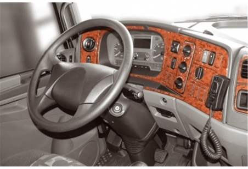 Ford Fusion 06.02 - 08.05 Mittelkonsole Armaturendekor Cockpit Dekor 5 -Teile