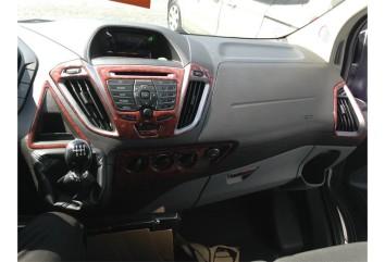 Ford Fusion 09.05 - 09.10 Interior Dashboard Trim Kit Dashtrim accessories, wood grain, camouflage, carbon fiber, aluminum dash