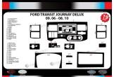 Ford Fiesta 10.2010 Mittelkonsole Armaturendekor Cockpit Dekor 22 -Teile