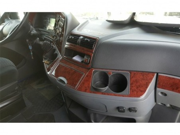 Ford Fiesta 09.05 - 09.10 Interior Dashboard Trim Kit Dashtrim accessories, wood grain, camouflage, carbon fiber, aluminum dash