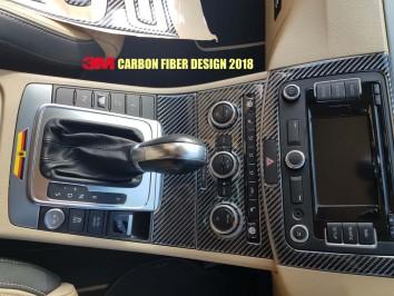 Ford Fiesta 09.05 - 09.10 Mittelkonsole Armaturendekor Cockpit Dekor 10 -Teile
