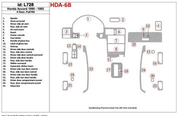 Ford Connect GLX 06.02 - 09.06 Interior Dashboard Trim Kit Dashtrim accessories, wood grain, camouflage, carbon fiber, aluminum