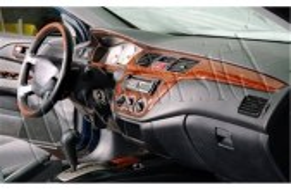 Ford Ka 10.96 - 02.02 Mittelkonsole Armaturendekor Cockpit Dekor 5 -Teile