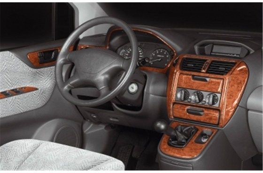 Mercedes GL-Class X164 01.2007 Mittelkonsole Armaturendekor Cockpit Dekor25 -Teile