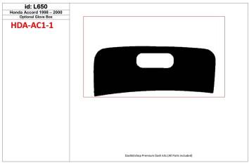 Mercedes C-Class W204 01.06 - 01.11 Mittelkonsole Armaturendekor Cockpit Dekor 11 -Teile