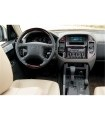 Mitsubishi Pajero 01.01-05.04 3M 3D Interior Dashboard Trim Kit Dash Trim Dekor 22-Parts