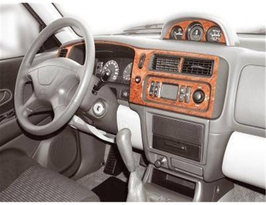 Mitsubishi Pajero Sport 05.2002 3M 3D Car Tuning Interior Tuning Interior Customisation UK Right Hand Drive Australia Dashboard