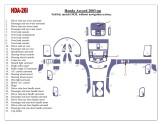 Mercedes C-Class W202 06.97 - 04.00 Mittelkonsole Armaturendekor Cockpit Dekor 14 -Teile