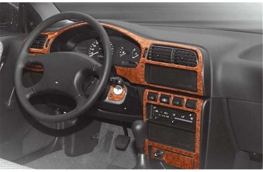 Nissan Sunny 09.91-09.95 3M 3D Car Tuning Interior Tuning Interior Customisation UK Right Hand Drive Australia Dashboard Trim Ki