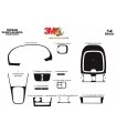 Nissan Sunny-Almera Arabian 04.00-02.03 3M 3D Interior Dashboard Trim Kit Dash Trim Dekor 14-Parts