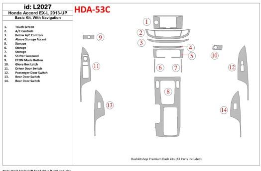 Nissan Micra 03.98-12.02 3M 3D Car Tuning Interior Tuning Interior Customisation UK Right Hand Drive Australia Dashboard Trim Ki