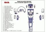 Hyundai Coupe 08.96 - 12.04 Mittelkonsole Armaturendekor Cockpit Dekor 8 -Teile